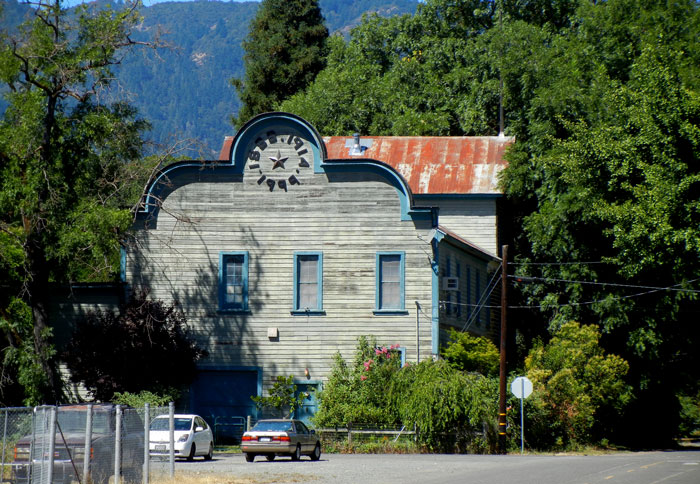 The old hotel in downtown Covelo