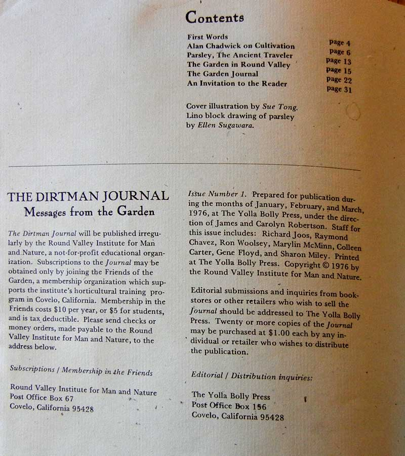 Dirtman Journal, page 2