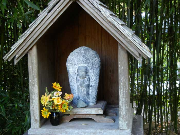 Another Buddha shrine in the formal garden area